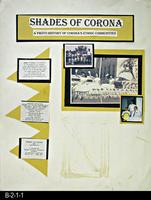Poster - Shades of Corona: A Photo History of Corona's Ethnic Communities