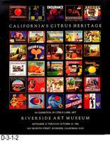 Poster - California's Citrus Heritage - Label Exhibition
