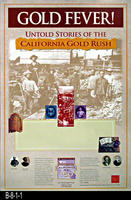 Poster - 1999 - Gold Fever - Untold Storeis of the California Gold Rush - California...