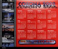 Poster - 2002 - Calendar advertising ZAP Printing