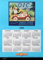 Poster - 1990 Calendar - O.I.C. Fruit Label Picture