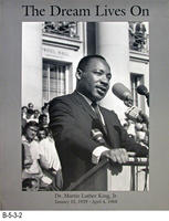 Poster - 1967 - The Dream Lives On - Dr. Martin Luther King, Jr.