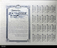 Bond - 1890 -Temescal Water Company - Trust Deed Ten Year Bond
