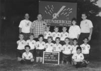 AYSO Thunderbolts Soccer Team Photo