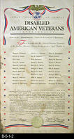 Document - 1944 - Disabled American Veterans - Charter for the Corona Hospital...