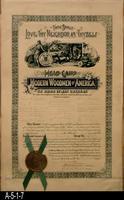 Document - 1901 - Charter - Modern Woodmen of America - Corona