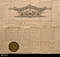 Document - 1905 - Articles of Incorporation - State of California - Department...