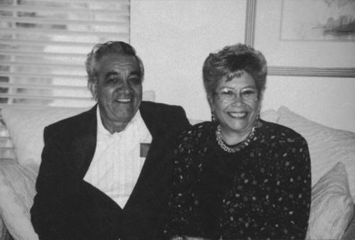 Virginia and Louis Alaniz.
