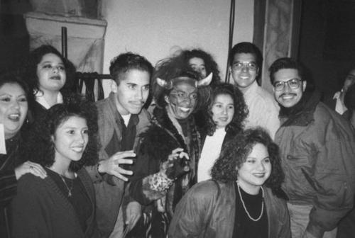 Riverside Community College (RCC) students and cast members of Teatro Campesino.