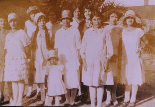 Frances Aldama MartineZ, 2nd from right (possibly)