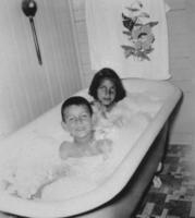 Bernadette and Santos in the Tub