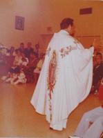 Priest at St. Edward's Church