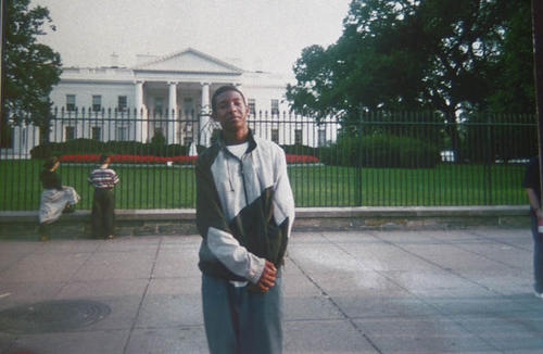 James Tucker (age 15) at the White House.