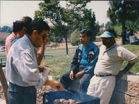 Barbeque in Park