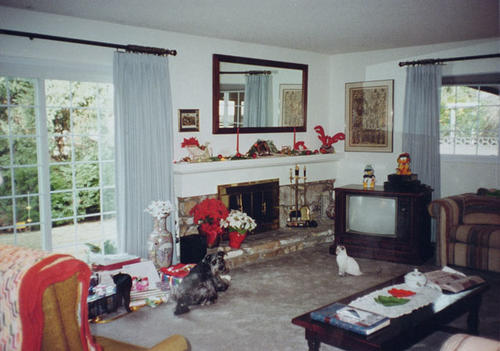 Interior of house at 935 West Rancho Road. Photo of the center of home.