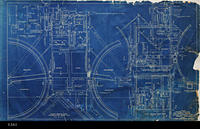 Blueprint - 1948 - Plan - Control Building and Dosing Tanks