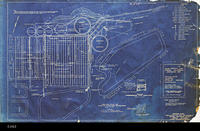 Blueprint - 1948 - General Plan - Location Plan and Plan of Filter and Sludge...