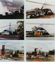 Six Photos of Corona Fire
