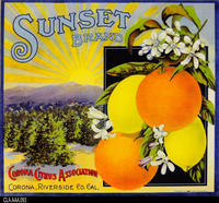 Sunset (Label Reproduction)