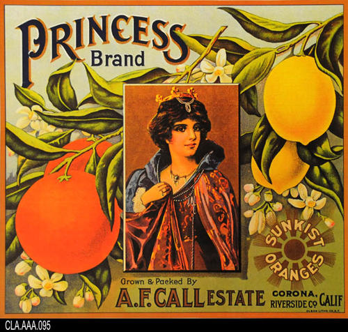 A. F. Call Estate - Sunkist Oranges