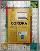 Corona Monopoly Game - Cardboard/Plastic
