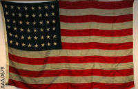 Forty-eight Star American Flag - Cotton