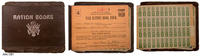 WWII Ration Book Holder - Leatherette/Paper/Metal