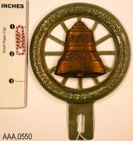 AAA License Plate Emblem - Tin