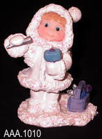Angel Ice Carving - Cast Art - Clay