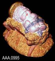 Baby Jesus - Cast Art - Clay
