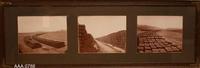 Framed B/W Photograph - Roof Tiles