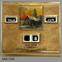 Calendar - Plastic