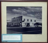 Framed B/W Photo - Bank of America 1950's