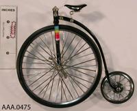 Old Fashioned Bike Model - Metal/Rubber