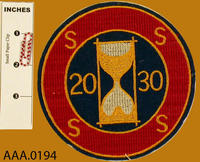 20/30 Club Patch - Cloth