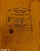 Framed Charter - Paper