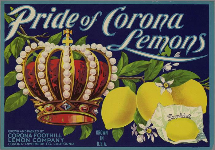 Corona Citrus Label Collection